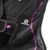 Salomon Flexcell Women rygskjold, Sort/Lilla