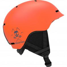 Salomon Grom, skihjelm, orange