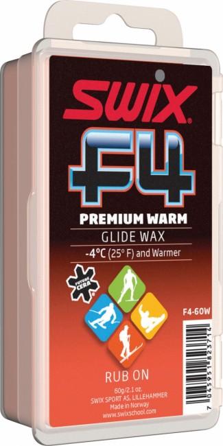 Swix F4 Premium Warm glidewax