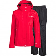 Tenson Monitor regnsæt, dame, rød