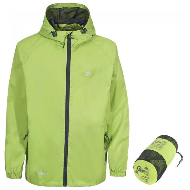 de3a0947 Trespass Qikpac Regnjakke, unisex, grøn - Skisport.dk SkiShop