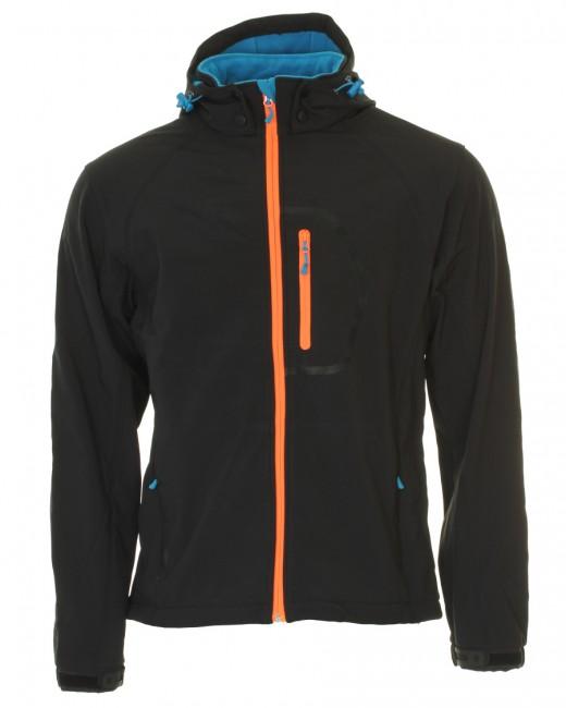 f36f86c0 Typhoon Poker, softshell jakke, mænd, sort - Skisport.dk SkiShop