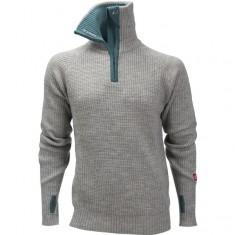 Ulvang Rav sweater w/zip, herre, grey melange