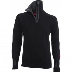 Ulvang Rav sweater w/zip, herre, sort