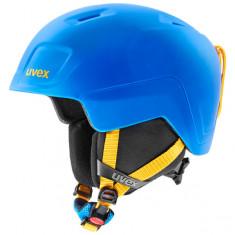 Uvex Heyya Pro, skihjelm, blå/gul