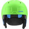 Uvex Heyya Pro, skihjelm, grøn/blå