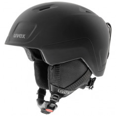 Uvex Heyya Pro, skihjelm, mat sort