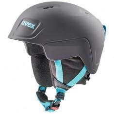 Uvex Manic Pro skihjelm, sort