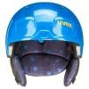 Uvex Manic, skihjelm, blue caterpillar