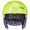 Uvex Manic, skihjelm, lime caterpillar