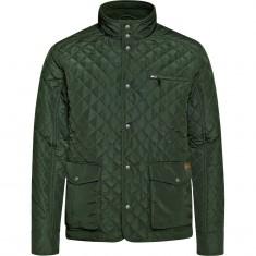 Weather Report Fraser, quiltet jakke, herrer, grøn